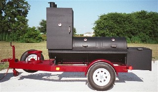 portable bbq smoker TS24X104