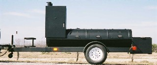 PORTABLE BBQ SMOKER TS24X132
