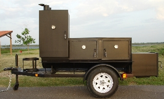 INSULATED BBQ SMOKER TS24X104