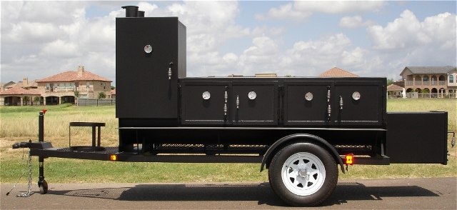 INSULATED BBQ SMOKER TS24X132