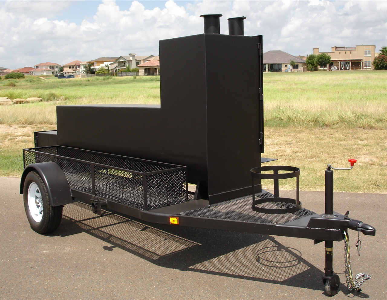 old country bbq pits portable trailer insulated bbq smokers and