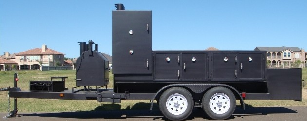 INSULATED BBQ SMOKER