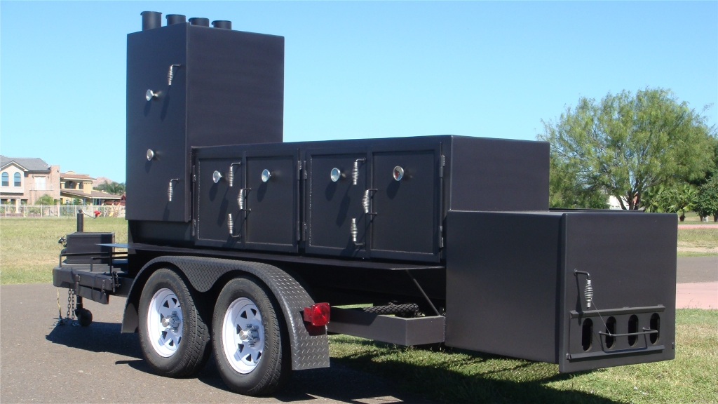 Portable Smokers Trailer