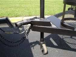 BBQ SMOKER, BULLDOG COUPLER