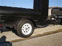 BBQ SMOKER, NEW TIRES