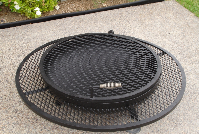 extended grill outdoor fire pits