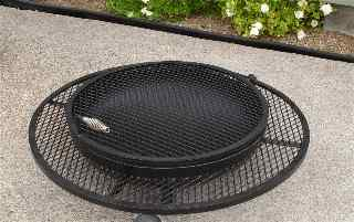 extended grill outdoor fire pits,  low closed 3